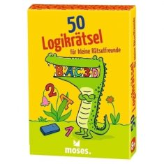 Kartenset - 50 Logikrätsel für kleine Rätselfreunde