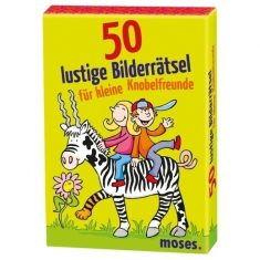 Kartenset - 50 lustige Bilderrätsel für Knobelfreunde