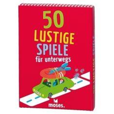 Kartenset - 50 lustige Spiele für unterwegs