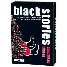 Kartenset - black stories, Christmas Edition