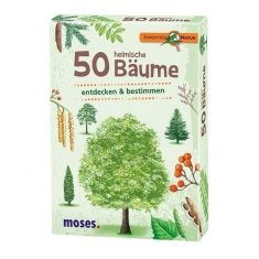 Kartenset - Expedition Natur, 50 heimische Bäume