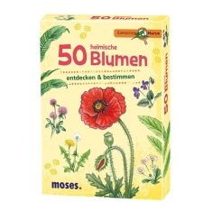 Kartenset - Expedition Natur, 50 heimische Blumen