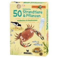 Kartenset - Expedition Natur, 50 heimische Strandtiere & Pflanzen