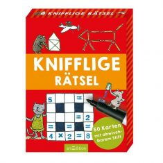 Kartenset - Knifflige Rätsel