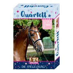 Kartenspiel - Quartett, Pferdefreunde