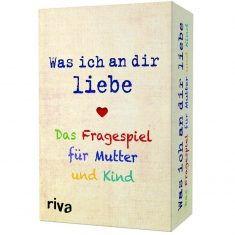 Kartenspiel - Was ich an dir liebe, das Fragespiel für Mutter und Kind