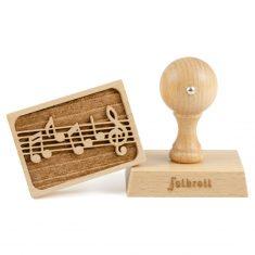3D-Motiv-Keksstempel - Musik, folkroll