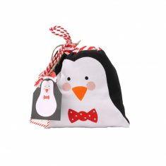 Kinderschürze - Weihnachts-Pinguin