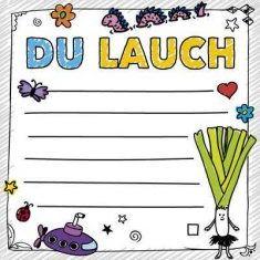 Klebezettel - FUCK: Du Lauch