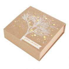 Kleine Winter Lichtbox - Baum