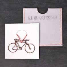 Kleiner Glücksbringer - Fahrrad