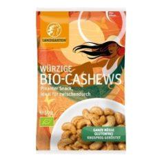 Knabbersnack - Würzige Bio-Cashews