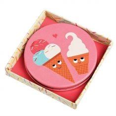 Kompaktspiegel - Ice Cream Friends