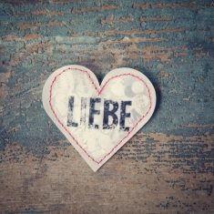 Konfettiherz - Liebe