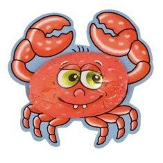 Krabbe aus Vollmilchschokolade