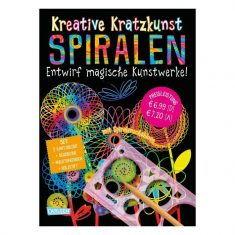 Kreative Kratzkunst: Spiralen - Entwirf magische Kunstwerke!