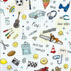 Geschenkpapier - Play