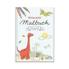 Malbuch Dinos von krima & isa