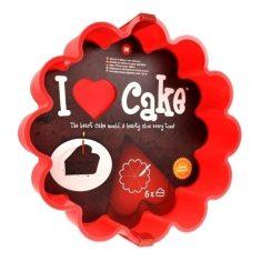 Kuchenform - Ich liebe Kuchen!