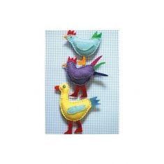 Küenzi-Postkarte, Vögel