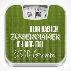 Kühlschrankmagnet - 3500 Gramm