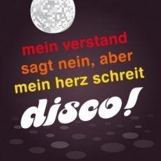 Kühlschrankmagnet - Disco