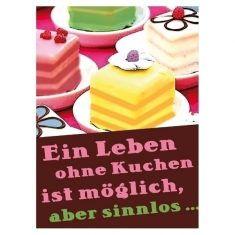 Kühlschrankmagnet - Kuchen