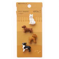 Mini Magnete - Dog, 4 Stück
