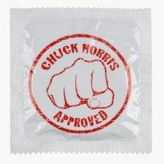 Latex-Kondom - Chuck Norris Approved
