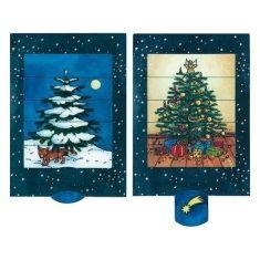 Lebende Karte - Weihnachtsbaum