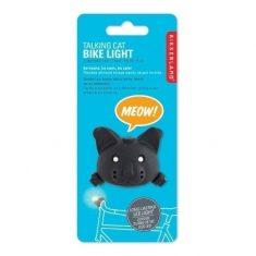 LED Fahrradlicht - Katze