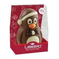 Weihnachtsfigur aus belgischer Schokolade