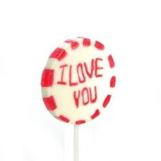 Lolli - I Love You, handgemacht