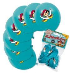 Luftballons - Pirat Pit Planke, 8er-Set