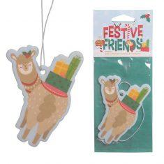 Lufterfrischer - Alpaka, Festive Friends