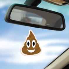 Lufterfrischer - Emoji Poop, 3er-Set