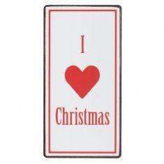 Magnet - I love Christmas