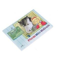 Malbuch - Pferde, mini