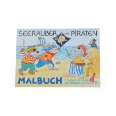 Malbuch - Seeräuber und Piraten
