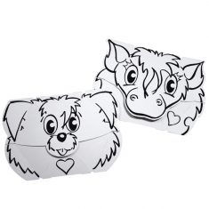 Masken-Set Hund & Pony