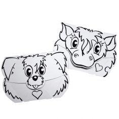 Masken-Set Hund & Pony