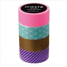 Masking Tape - 4er Set, Mix A
