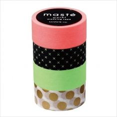 Masking Tape - 4er Set, Mix D