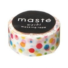 Masking Tape - Colorful Dots