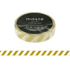 Masking Tape - Stripes Gold