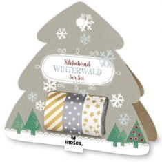 Masking Tape - Winterwald, 3er-Set