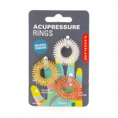 Massageringe - Acupressure Rings, 3er-Set