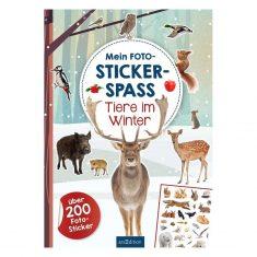 Mein Foto-Stickerspass Tiere im Winter