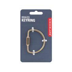 Messing-Schlüsselanhänger - Brass Keyring