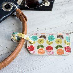 Gepäckanhänger - Mid Century Poppy
